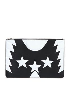 Givenchy | Кожаный Клатч С Принтом