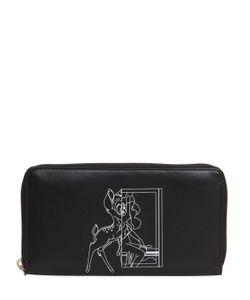 Givenchy   Кожаный Кошелёк С Принтом Bambi
