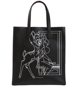 Givenchy | Кожаная Сумка Stargate С Принтом Bambi