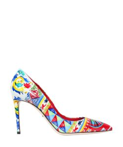 Dolce & Gabbana | Туфли Kate Из Искусственной Кожи 85mm