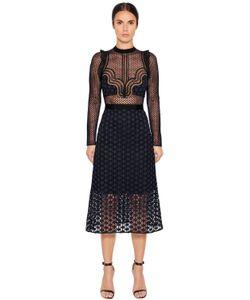 SELF-PORTRAIT | Платье Из Гипюрового Кружева