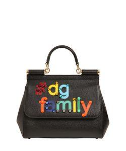 Dolce & Gabbana | Кожаная Сумка Sicily Dg Family