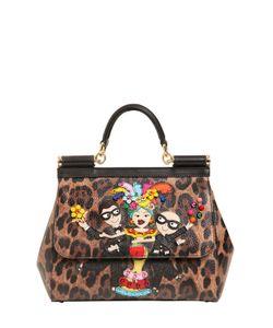 Dolce & Gabbana | Сумка Sicily С Леопардовым Принтом