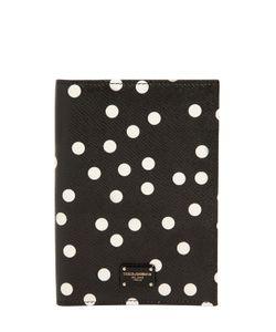 Dolce & Gabbana | Кожаный Чехол Для Паспорта В Горошек