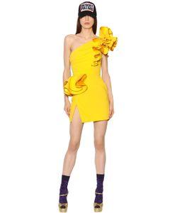 Dsquared2 | Платье Из Стретч Крепа С Оборками