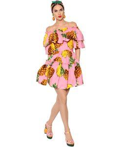 Dolce & Gabbana | Платье Из Поплин