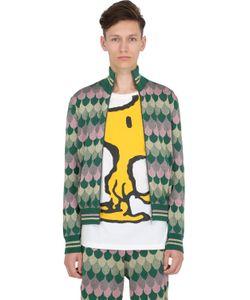 Gucci | Куртка Из Полушерстяного Жаккарда С Люрексом
