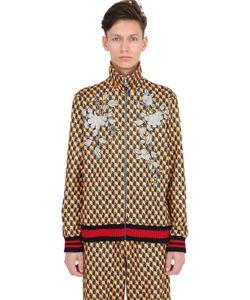 Gucci | Куртка Из Техноджерси С Принтом