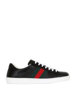 Gucci | Кожаные Кроссовки Web Gg Ssima