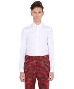 Gucci | Рубашка Из Хлопкового Стрейч Поплин