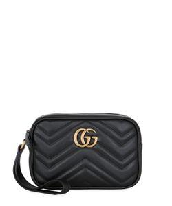 Gucci | Кожаный Клатч Gg Marmont 20