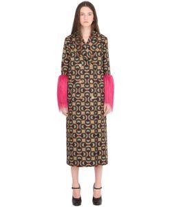 Gucci | Пальто Из Шерстяного Жаккарда