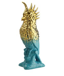 MARIONI | Керамическая Статуэтка Попугай