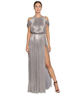 Maria Lucia Hohan   Платье Из Вискозного Джерси И Ламè