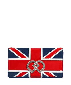Dsquared2 | Замшевый Клатч Dd British Flag