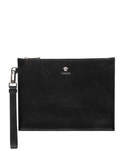 Versace | Кожаный Клатч Palmellato
