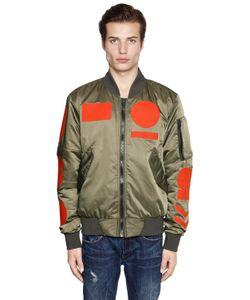 G-Star | Куртка-Бомбер Из Нейлона С Аппликациями