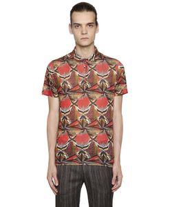 Etro | Рубашка-Поло Из Льняного Джерси