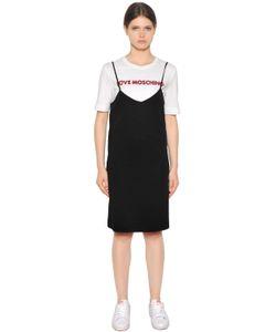 Love Moschino | Платье Из Хлопкового Джерси