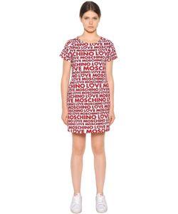 Love Moschino | Хлопковое Платье С Принтом