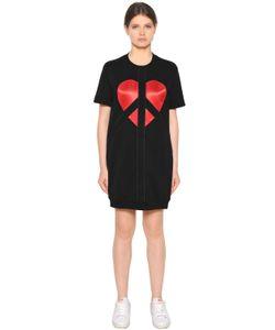Love Moschino | Платье Из Плотного Хлопка