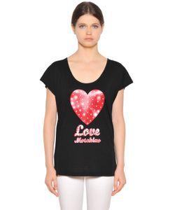 Love Moschino | Футболка Из Хлопкового Модал