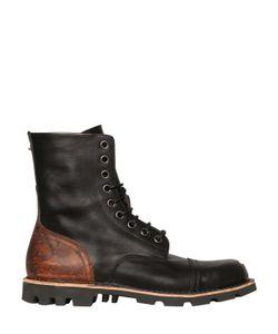 Diesel | Кожаные Ботинки Со Стальной Вставкой