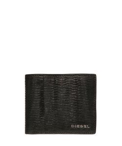 Diesel | Кожаный Кошелёк С Лазерным Тиснением