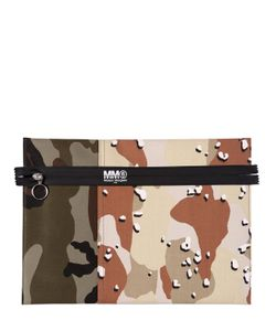 MM6 by Maison Margiela | Клатч Из Хлопка Канвас Camouflage