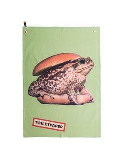 SELETTI WEARS TOILET PAPER | Кухонное Полотенце С Принтом Жаба