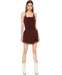 ISABEL MARANT ÉTOILE | Платье Из Шёлкового Крепон С Принтом