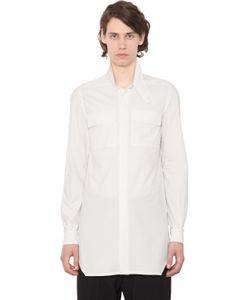 Rick Owens | Хлопковая Рубашка С Карманами