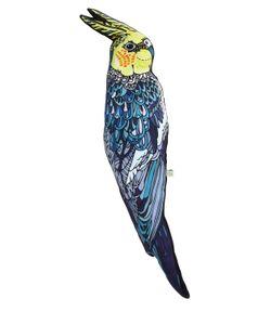 SILKEN FAVOURS | Подушка Волнистый Попугай Из Хлопка И Шёлка