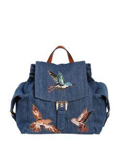 Red Valentino | Рюкзак Из С Нашивками Птицы