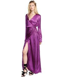 ATTICO | Платье С Запàхом Из Шёлкового Атласа