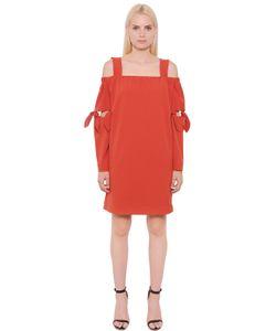 Designers Remix | Платье Из Крепа С Завязками