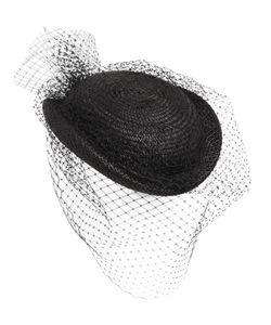 FEDERICA MORETTI | Соломенная Шляпа С Вуалью