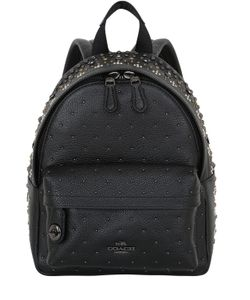 COACH NY | Кожаный Рюкзак С Заклёпками