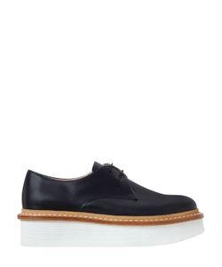 Tod'S | Кожаные Ботинки На Платформе 50mm