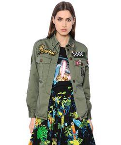 Marc Jacobs | Куртка Из Лёгкого Канвас С Декоративными Деталями