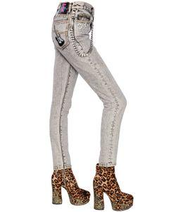 Marc Jacobs | Джинсы Скинни Из Деним 17cm