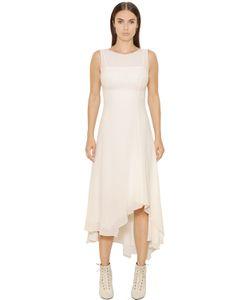 Akris | Платье Из Шёлкового Креп-Жоржета