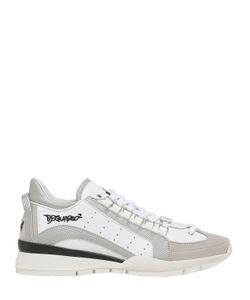 Dsquared2 | Кроссовки Из Кожи И Нейлона