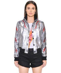 Just Cavalli | Куртка Из Ламинированной Кожи