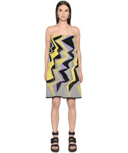 Missoni | Платье Из Хлопкового Трикотажа С Люрексом