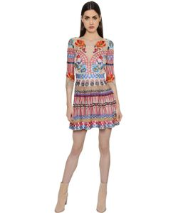 Temperley London | Платье Из Тюля И Шёлковой Вуали С Вышивкой