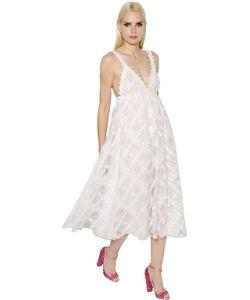 GIAMBA | Платье Из Кружева И Тюля