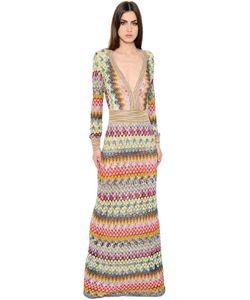 Missoni | Платье Из Трикотажа С Ламé И Вискозы