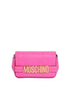 Moschino | Кожаная Сумка С Заклёпками