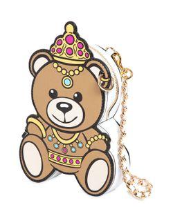 Moschino | Кожаная Сумка Teddy Bear
